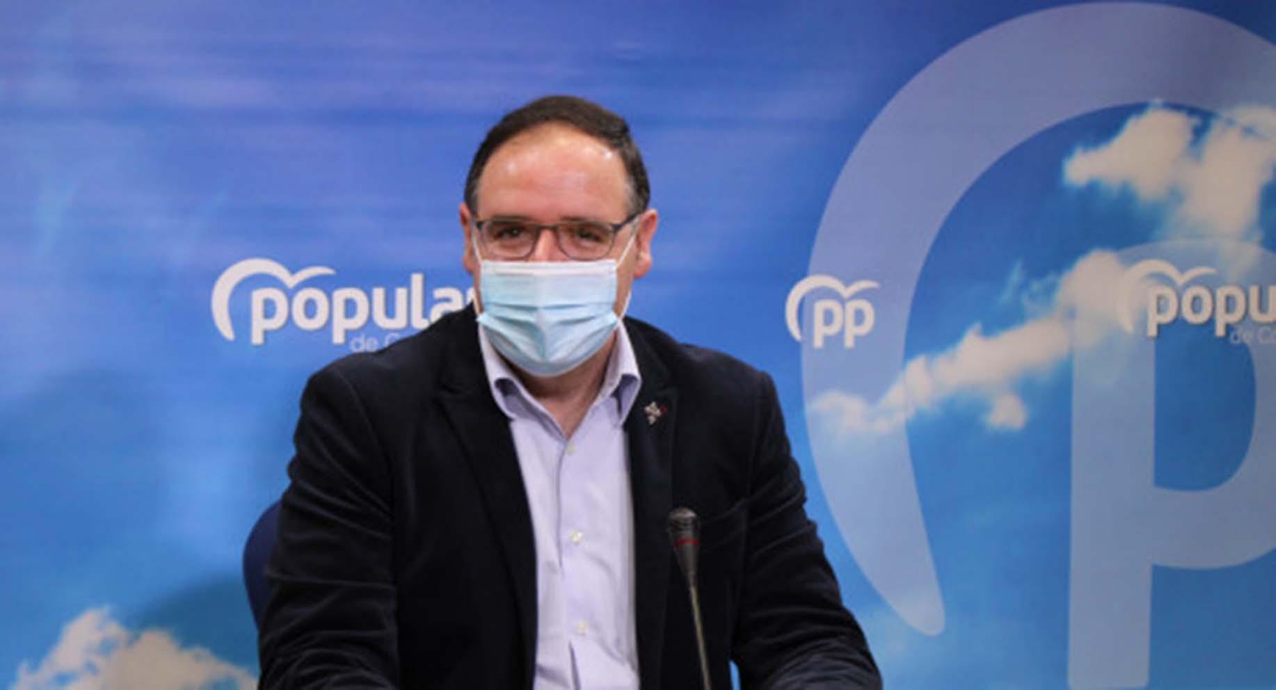 El presidente del PP de Cuenca, Benjamín Prieto.