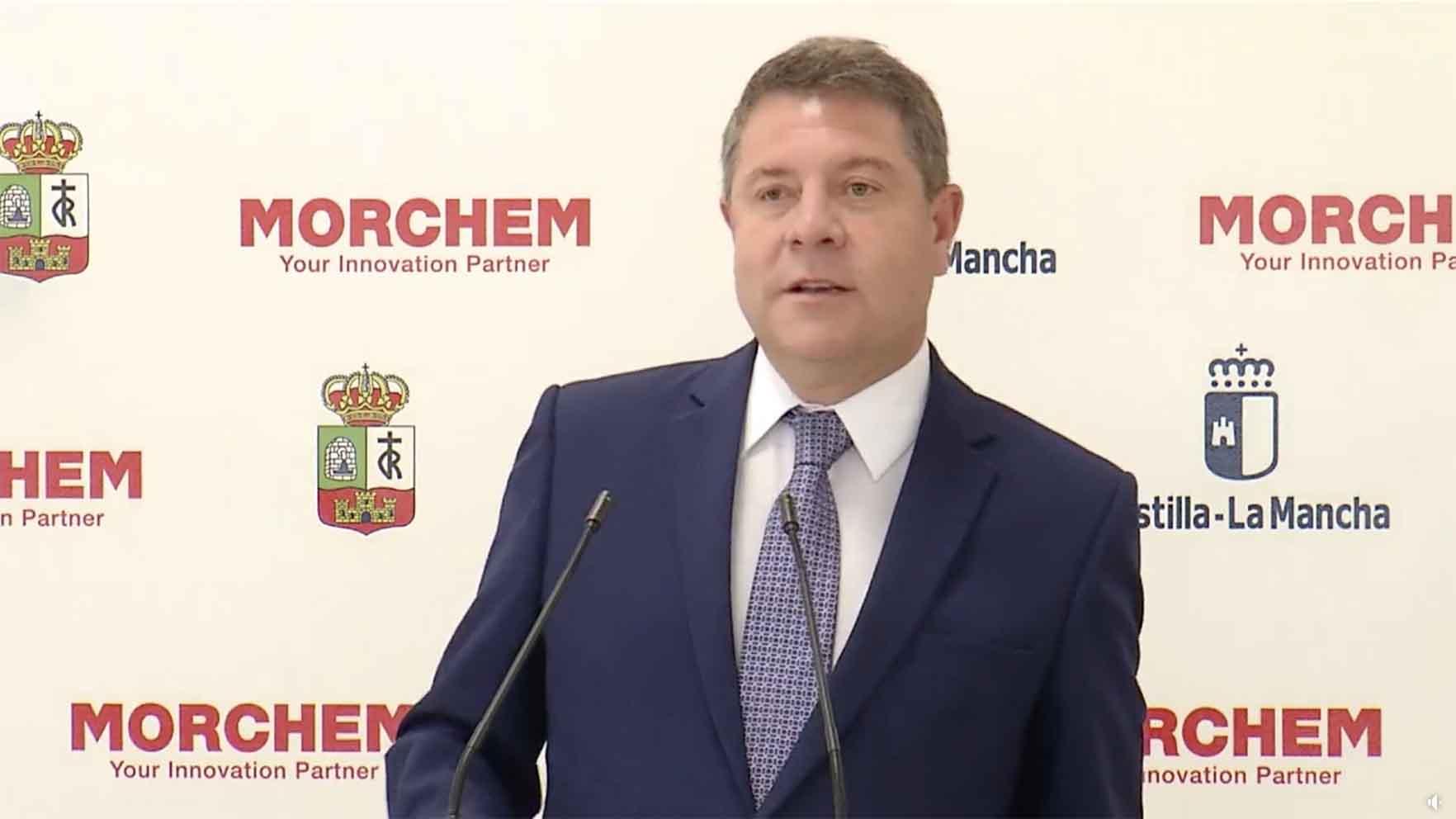 El presidente del PP de Castilla-La Mancha, Emiliano García-Page.