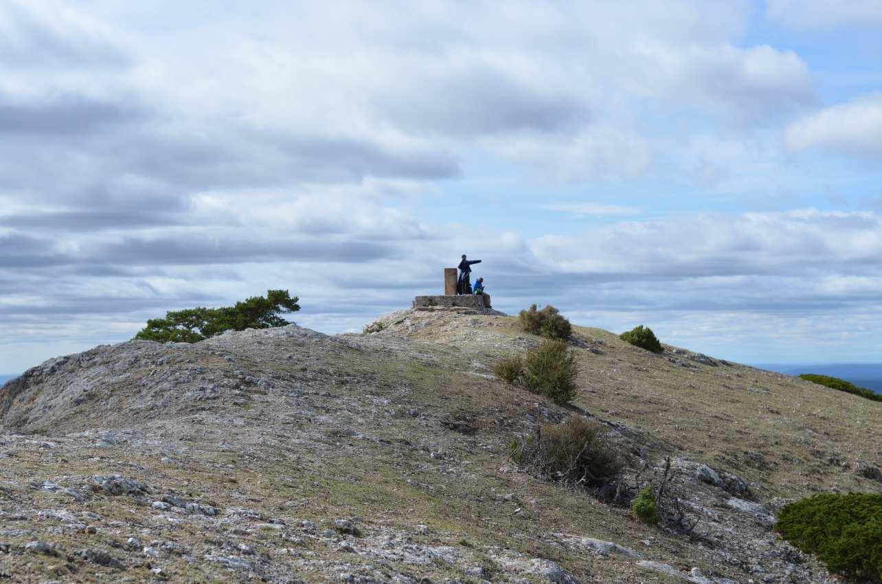 Cumbre de la Muela de San Felipe, en Tragacete (Cuenca).