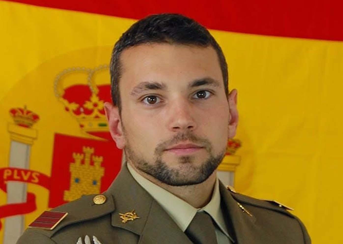 El sargento Rafael Gallart Martínez, fallecido durante un salto en paracaídas.