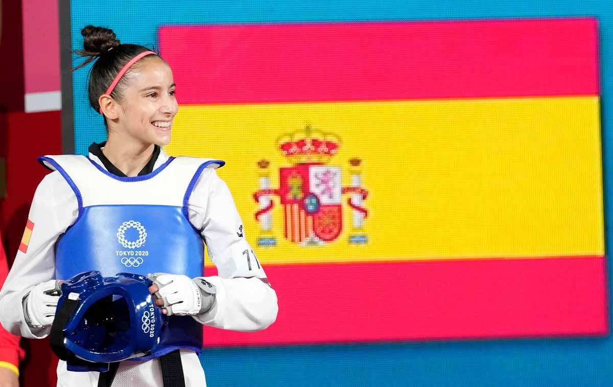 Adriana Cerezo ha hecho historia en los Juegos
