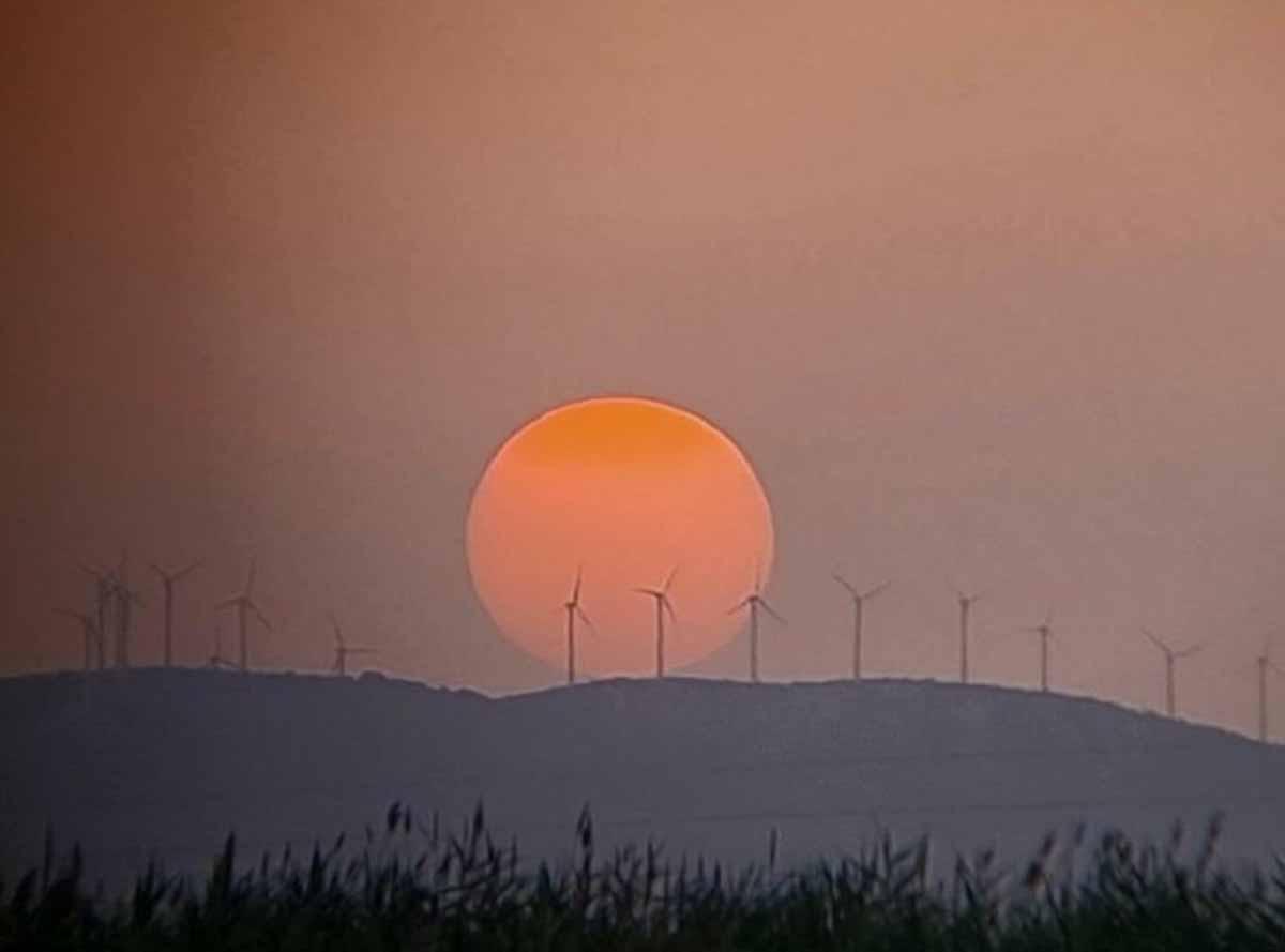Una bella imagen desde la Manchuela. Foto: @xusvalencia