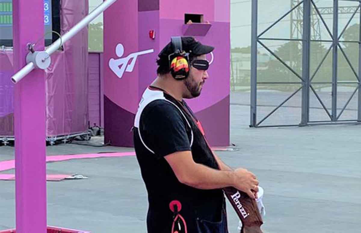 Alberto Fernández, fuera de los Juegos. Foto: @ Illescas_Ayto