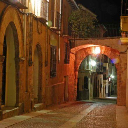 Arco de la Puerta Nueva, en Alcaraz