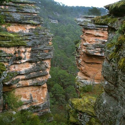 Parque Natural del Alto Tajo, una de las muchas bellezas naturales que se pueden ver en Castilla-La Mancha.