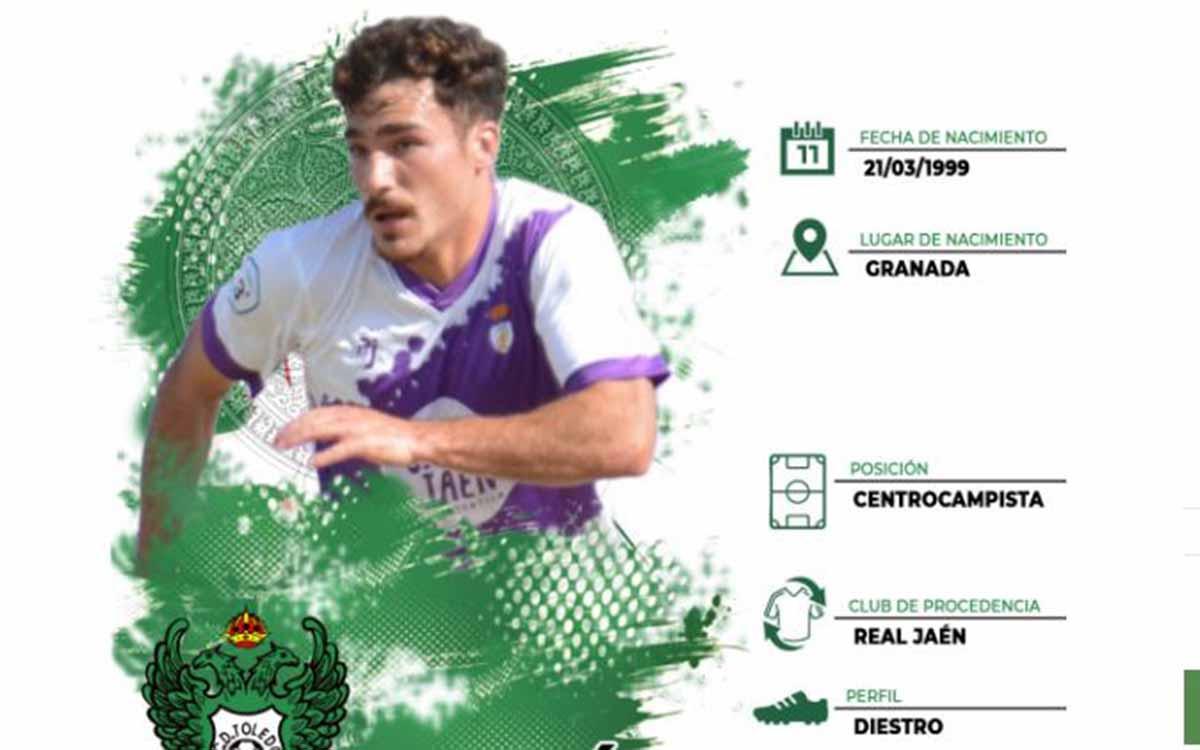 Jesús Cambil, nuevo jugador del Toledo