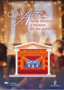 """Cartel del programa """"CLM actúa"""""""