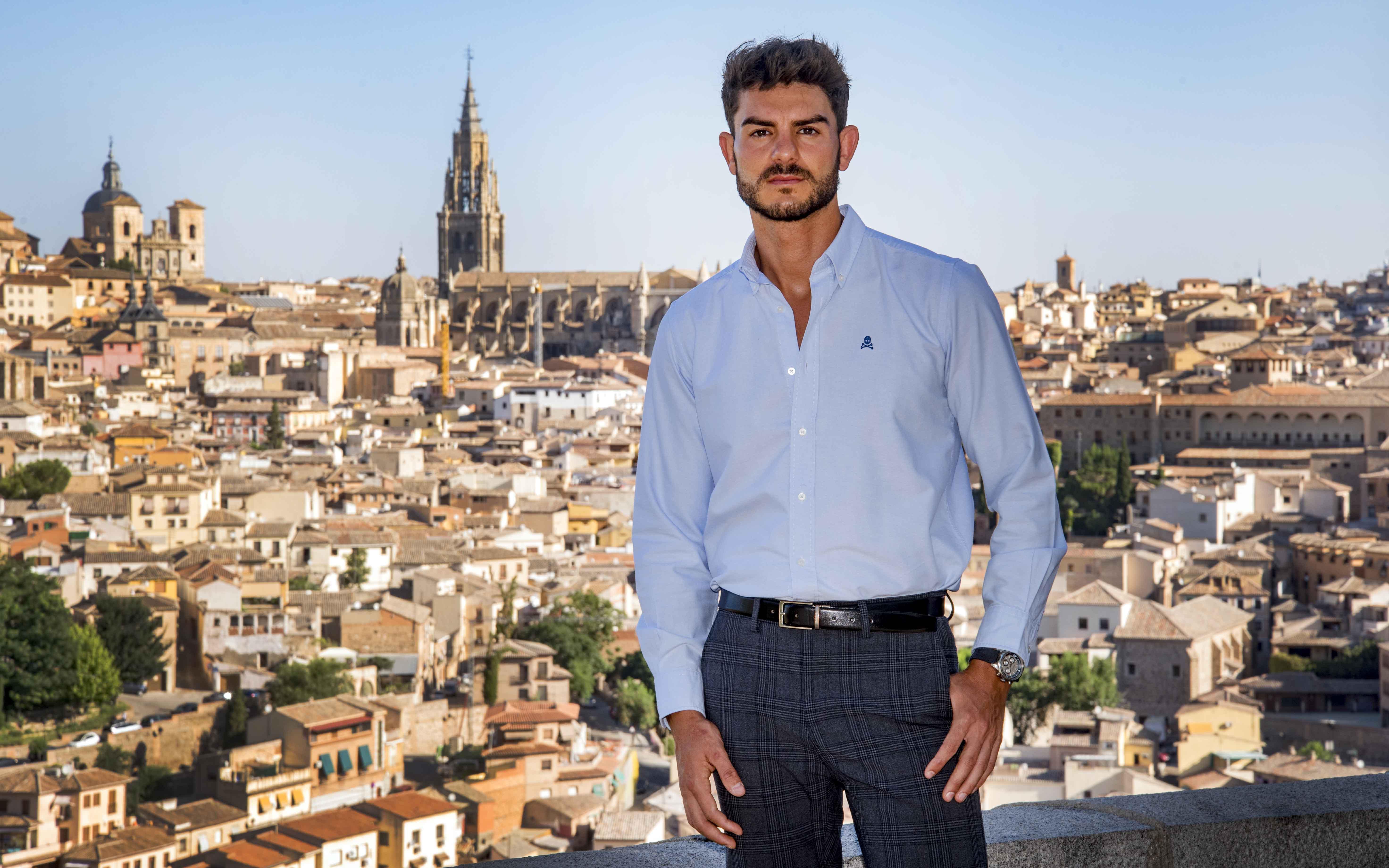 Diego Velasco, candidato a Míster España