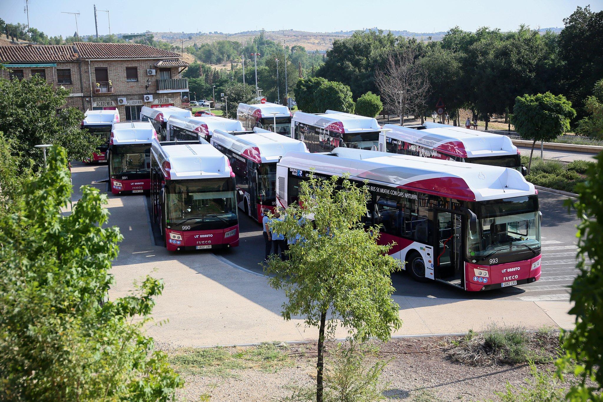 bus toledo, autobus toledo, transporte urbano toledo