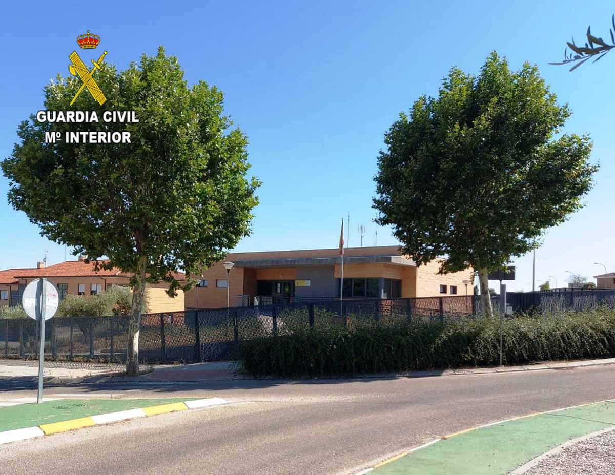 En la foto, cuartel de la Guardia Civil en El Casar