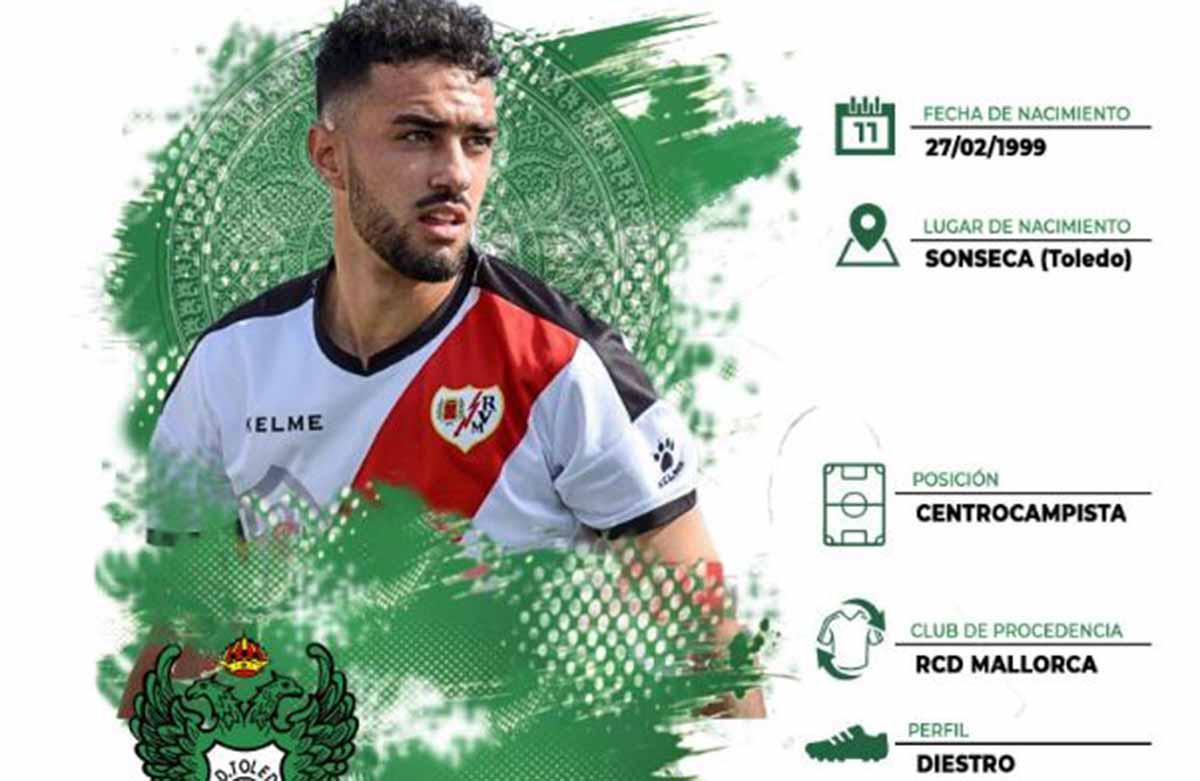 Alberto Bernardo ya es jugador del Toledo