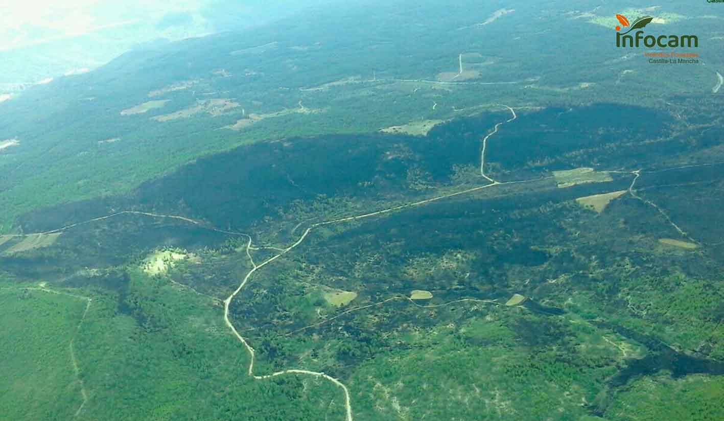 Incendio de Víllora (Cuenca)