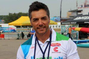 Luis Brasero, seleccionador del equipo olímpico español de piragüismo