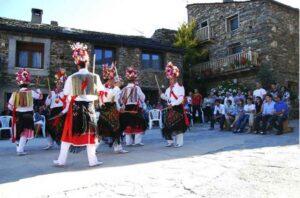 Fiesta de la Octava del Corpus, en Valverde de los Arroyos