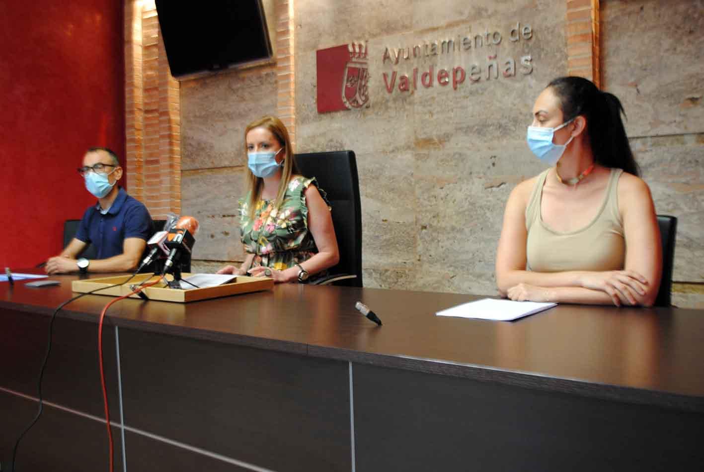 Presentación actividades verano Valdepeñas