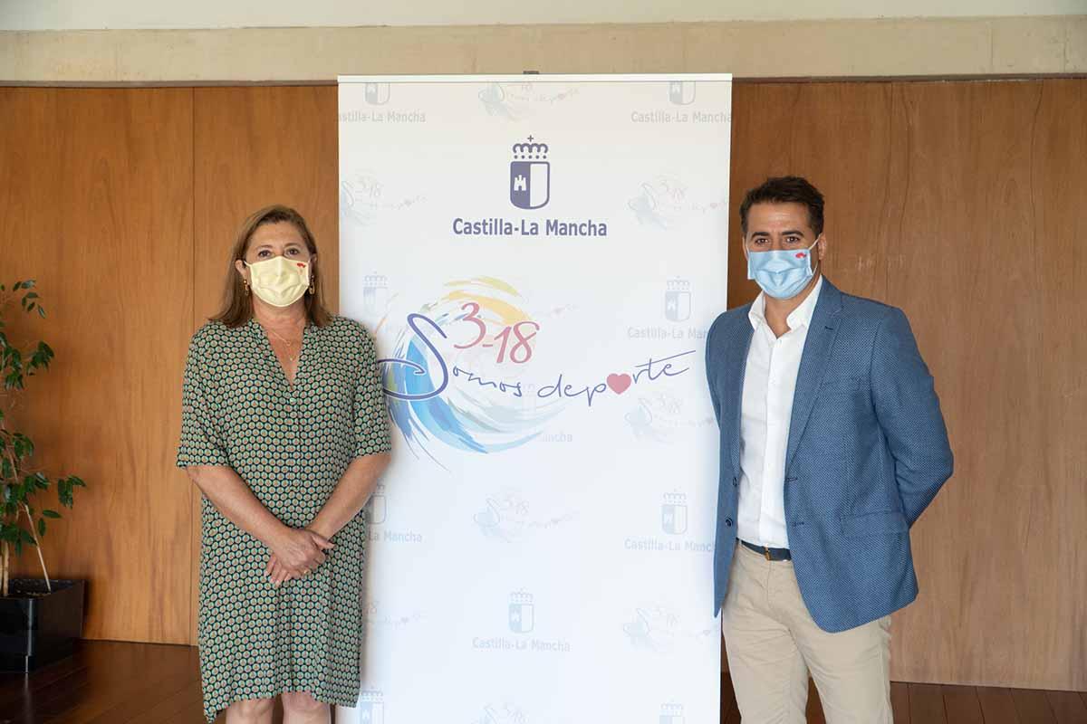 Rosa Ana Rodríguez y Carlos Yuste