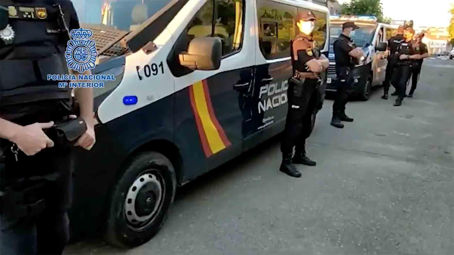 Detalle de la vasta operación antidroga de la Policía Nacional en El Casar de Escalona
