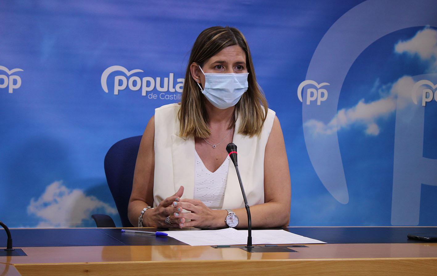 Carolina Agudo, secretaria general del PP de CLM.