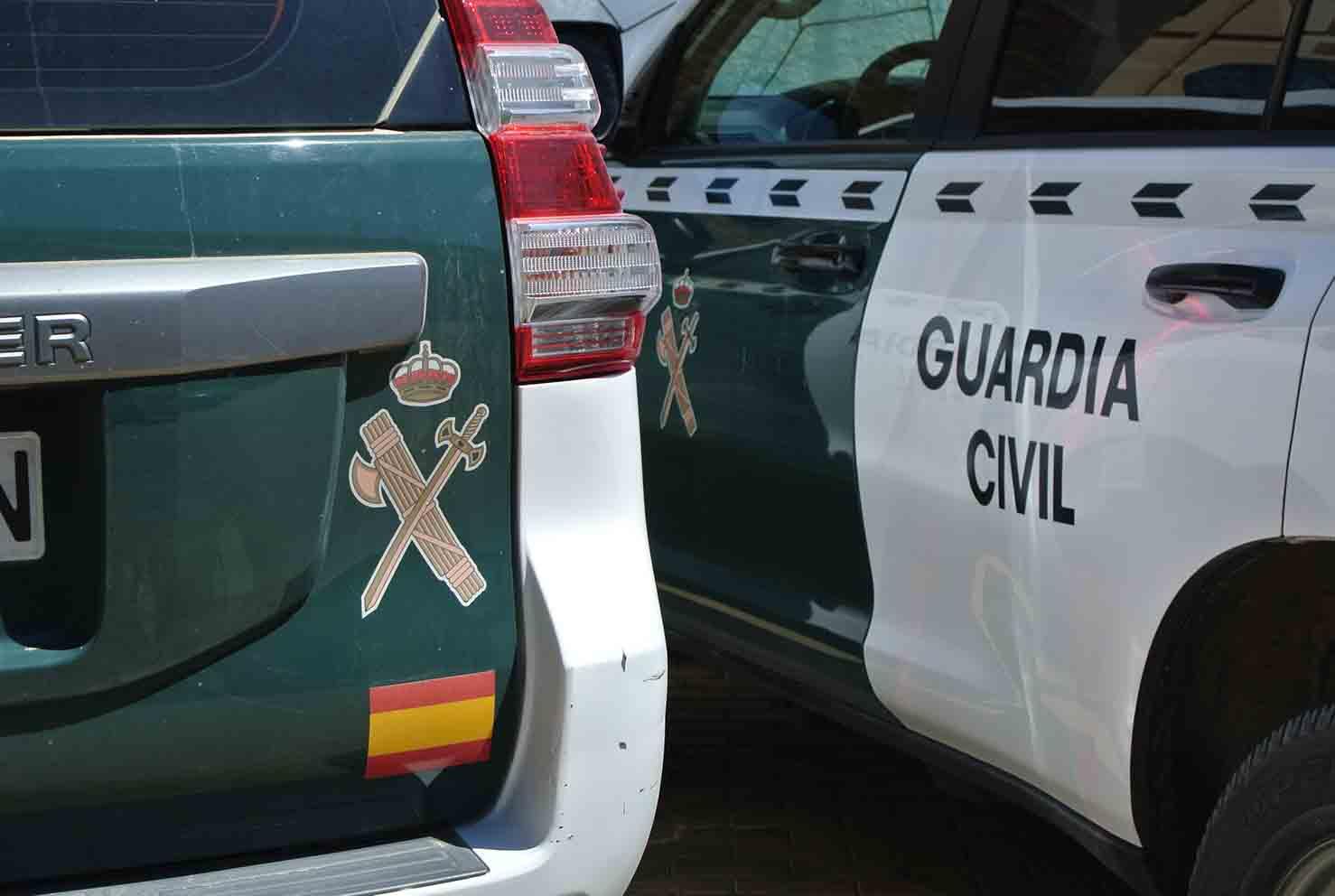 coche, guardia civil, vehículo