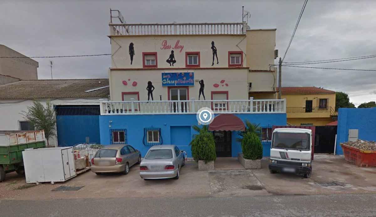 """""""La Chupitería"""", el local donde hubo una pelea el sábado por la noche en Albacete. Foto: Google"""