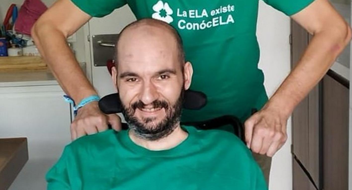 Jordi Pons se ha indignado con un diputado del PSOE de CLM por la respuesta que dio en las Cortes sobre el tramiento a los enfermos de ELA. Foto: @pons_sabate.
