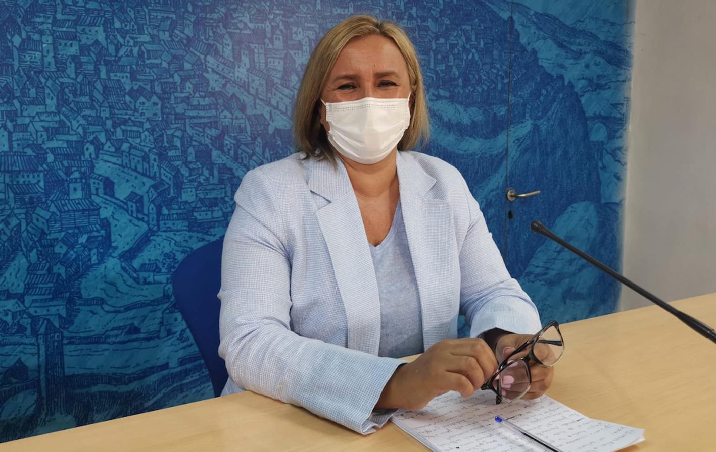 """Maite Puig ha mostrado su satisfacción por la que ha considerado """"la mejor Feria y Fiestas de Toledo de la historia""""."""