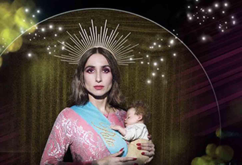 """Imagen con la que Zahara promociona su último álbum y que tambien forma parte del cartel de su concierto en """"Toledo Alive""""."""