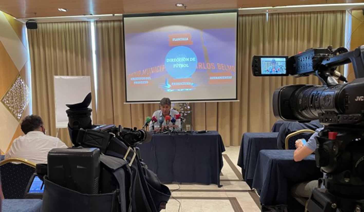 Habló el director deportivo del Albacete, Alfonso Serrano