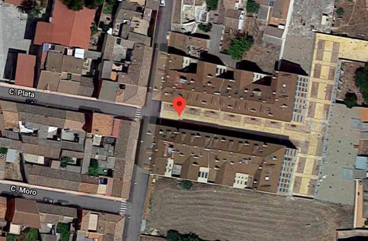Calle Juan José Benayas de Torrijos, donde un hombre agredió a otro al que conocía. Imagen: Google Maps