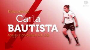 Carla Bautista Piqueras: su último equipo es el Rayo Vallecano. Foto: Rayo