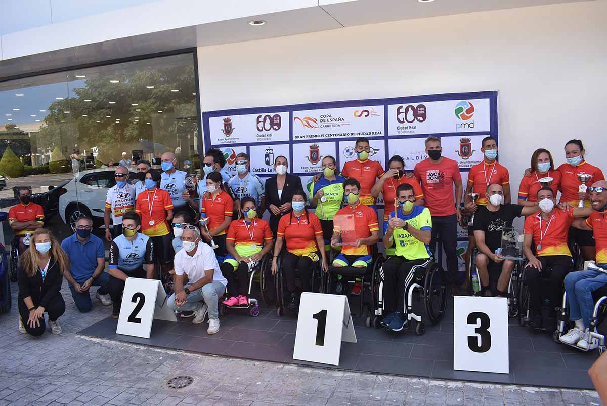 El mejor ciclismo adaptado se dio cita en Ciudad Real