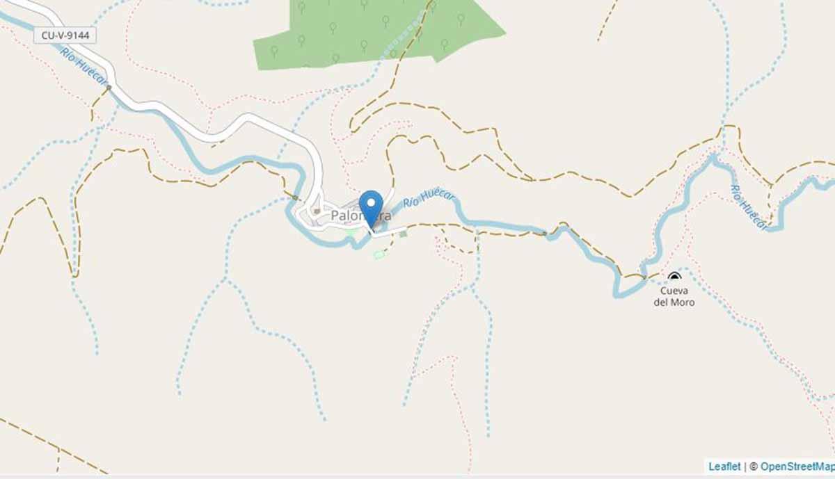 La prueba de trail era entre Palomera y Cuenca