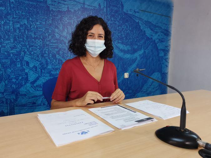 La portavoz del Gobierno local de Toledo, Noelia de la Cruz