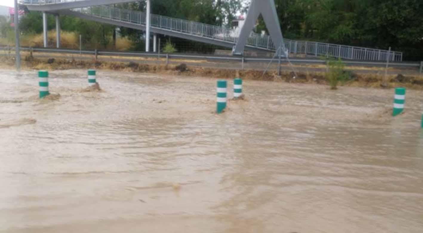 Tremenda lluvia en Toledo