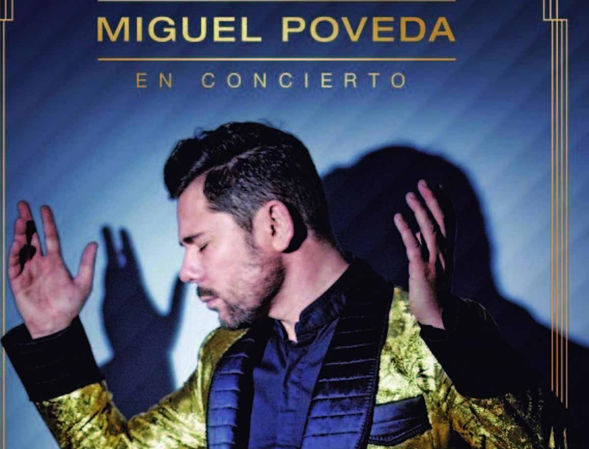 Detalle del cartel del concierto de Miguel Poveda en Albacete