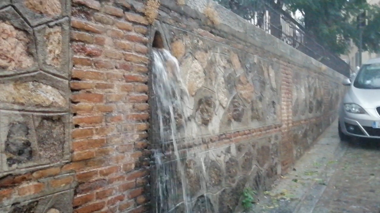 Tromba de agua en Toledo