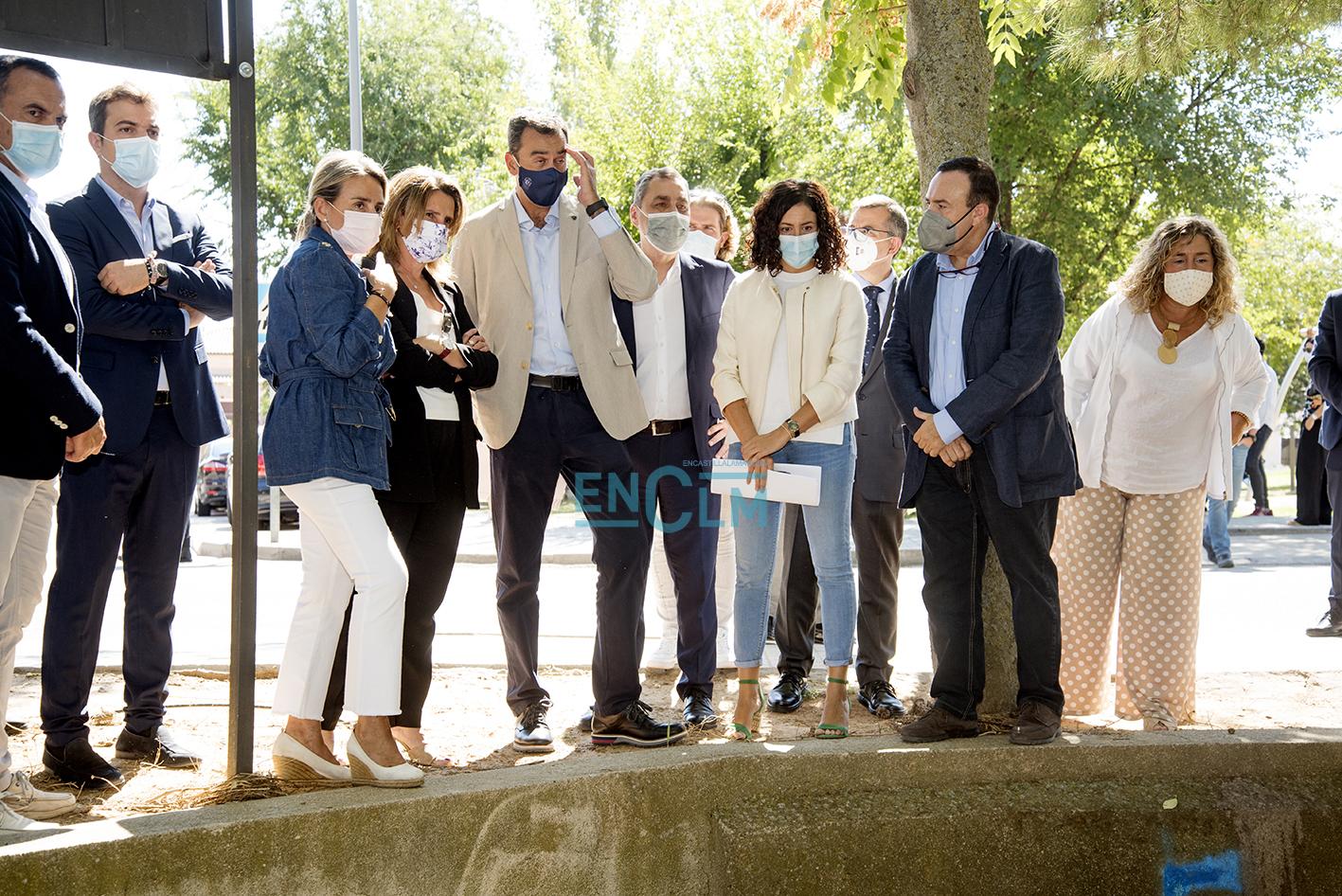 La vicepresidenta Ribera ha visitado Azucaica junto el equipo de Gobierno de Toledo y el delegado del Gobierno en CLM. Foto: Rebeca Arango.