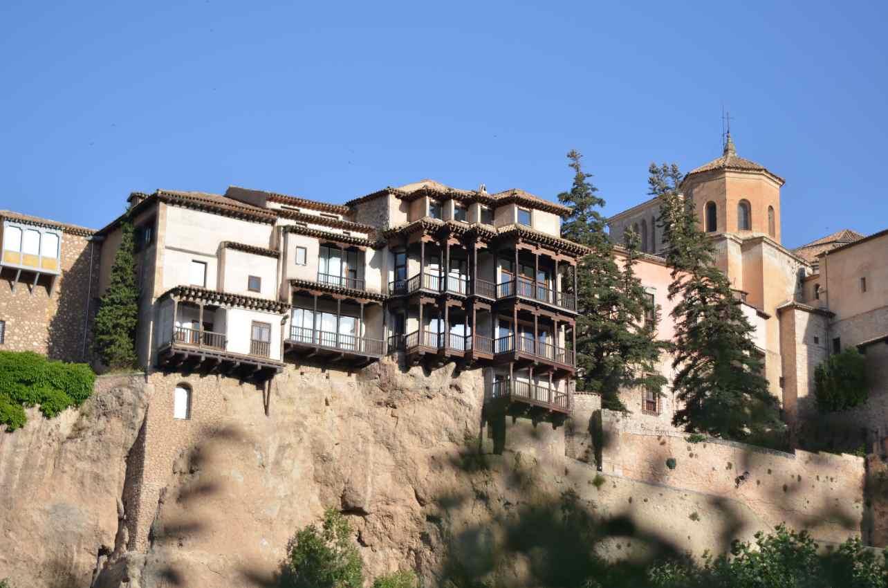 Las Casas Colgadas, en Cuenca. Foto: David Romero.