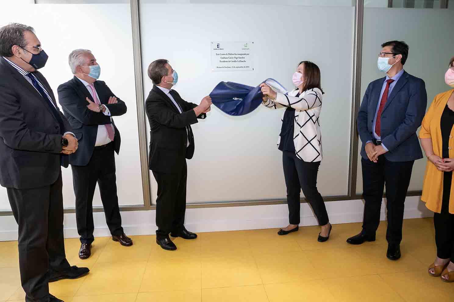 Inauguración del nuevo centro externo de diálisis en Alcázar de San Juan.