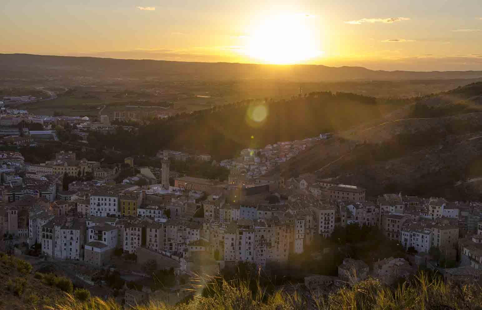 Imagen del casco antiguo de Cuenca. Foto: David Romero.