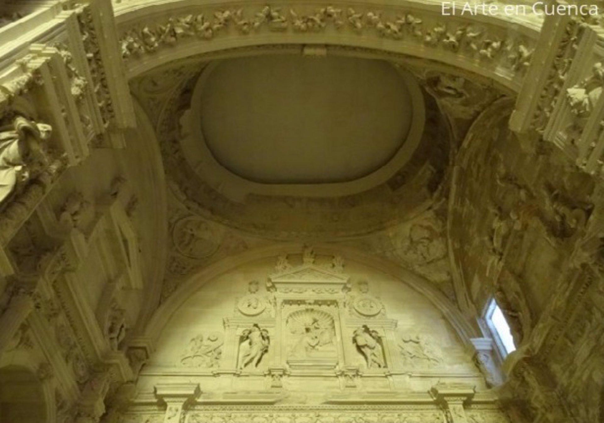 El arco de Jamete de la Catedral de Cuenca.