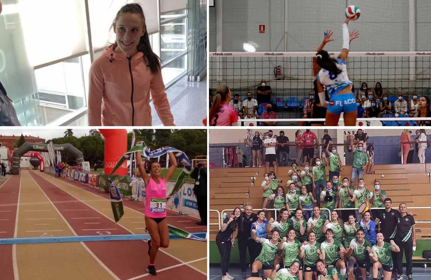 Paula Sevilla, Kiele Socuéllamos, Gemma Arenas y BM Bolaños, 4 grandes exponentes del deporte femenino en Ciudad Real