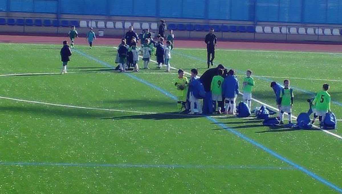 Estadio Fernández Jiménez Serrano, de Seseña. Foto: CF Seseña