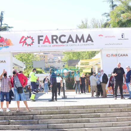 Farcama, en la Vega toledana, un éxito de público como nunca antes se había visto. Foto: Rebeca Arango.