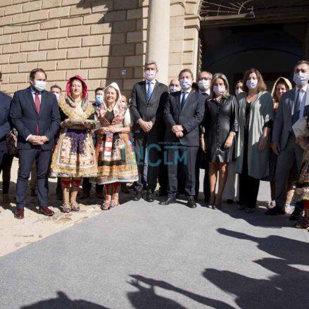 Autoridades locales, provinciales y regionales han inaugurado hoy Farcama, en el Paseo de la Vega y el Hospital de Tavera, en Toledo. Foto: David Romero.