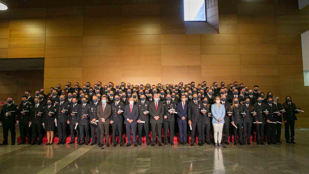 Graduación de agentes de Policía Local de Castilla-La Mancha.