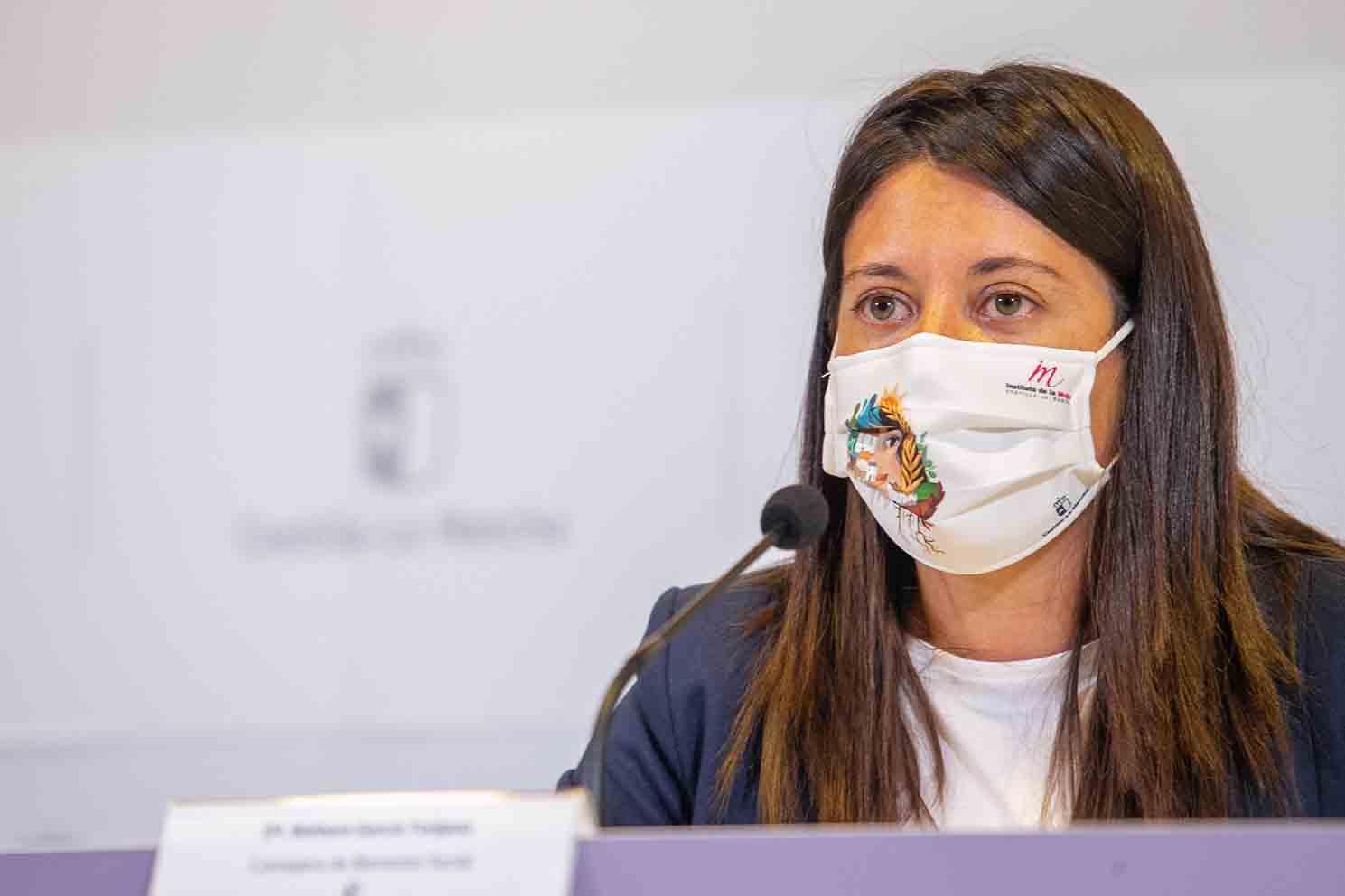 La consejera de Bienestar Social de Castilla-La Mancha, Bárbara García Torijano.