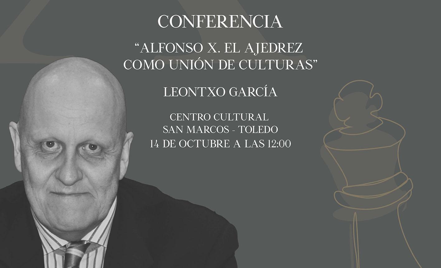 Leontxo García impartirá una conferencia en Toledo el jueves 14.