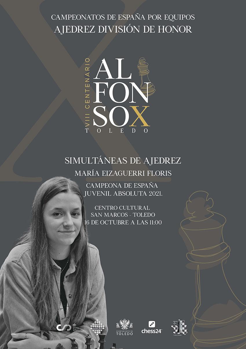 María Eizaguirre, campeona de España de ajedrez en categoría juvenil. ¿Quieres jugar unas simultáneas con ella?